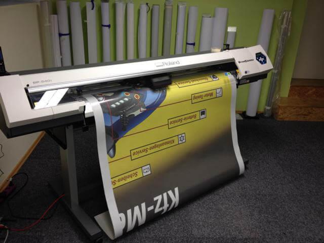 Digitaldruck, Digitaldruck, Bischof-Werbung Folien- und Werbetechnik
